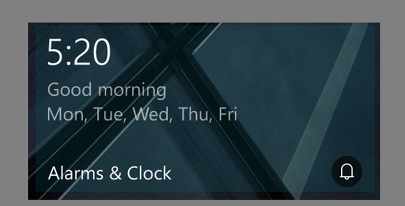 Windows Alarms Clock For Windows 10 Updated With Live
