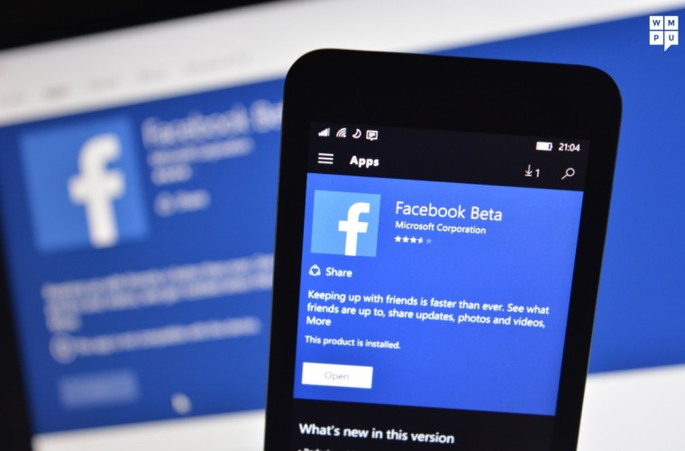 Facebook Beta for Windows 10 Mobile updated with Landscape Video mode, more 10