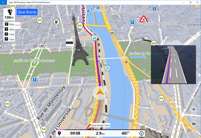 Sygic GPS Navigation now a Universal Windows App in open