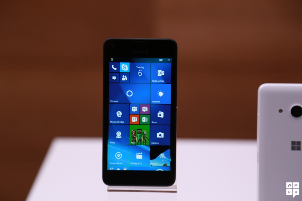 Lumia 550 Update A Microsoft Spokesperson Confirmed That Windows 10