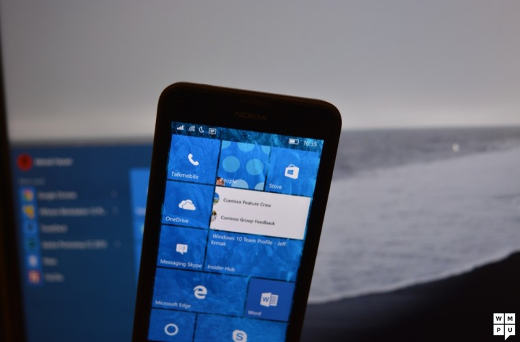 Speed of Windows 10 Mobile Build 10549 and Windows Phone 8.1 compared in video 15