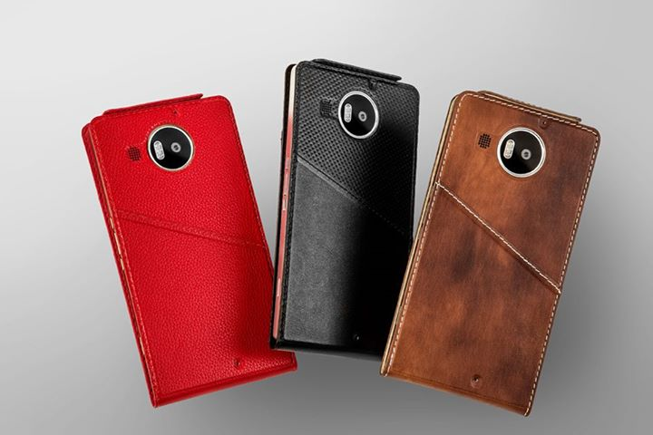 Mozo Leather Flip Covers