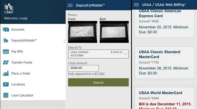 USAA Mobile Is Now A Universal Windows App 13
