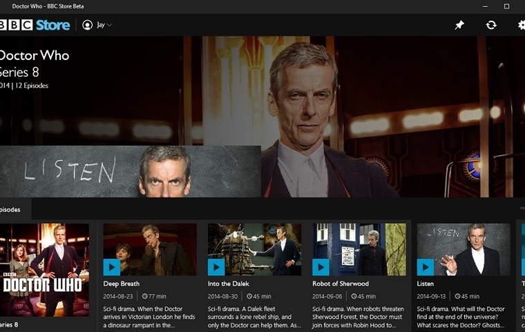BBC brings their TV Store to Windows and Windows Phone 16