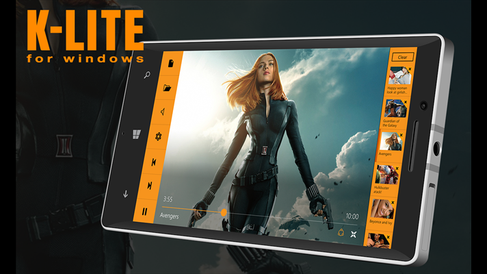 Developer Submission: K-Lite Player for Windows is now available for Windows Phone users! 6