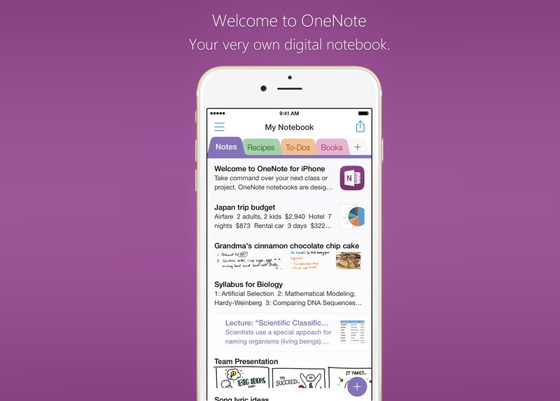 OneNote and Skype apps updated for iPhone with bug fixes