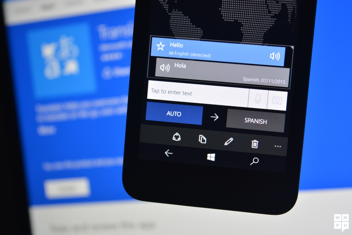 Microsoft Translator for Windows 10 Mobile also on the way out
