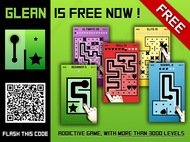 Developer Submission: Glean is Free with 3000+ new levels 1