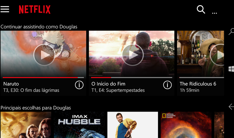 Developer creates Universal Netflix app with Continuum support (with a catch) 5