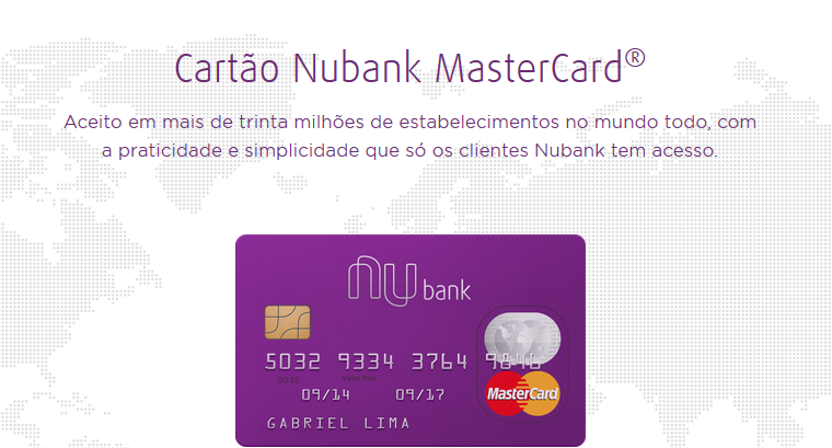 Nubank Windows Phone app updated with Card Tracking 14