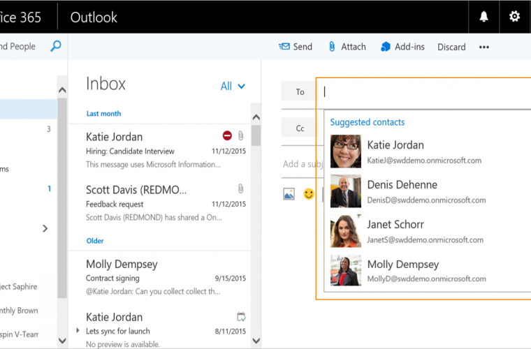 Microsoft announces several new features for Outlook on the web 22