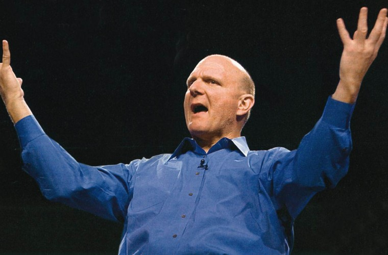Watch Steve Ballmer's reaction to the new Surface lineup 2