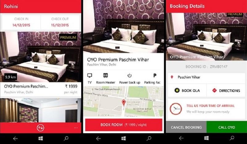 OYO Rooms debut on Windows Phone Store - MSPoweruser