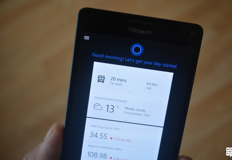 Cortana For Windows Devices Is A Useful Service Providing At Glance Daily Planer Functionality And Other Features
