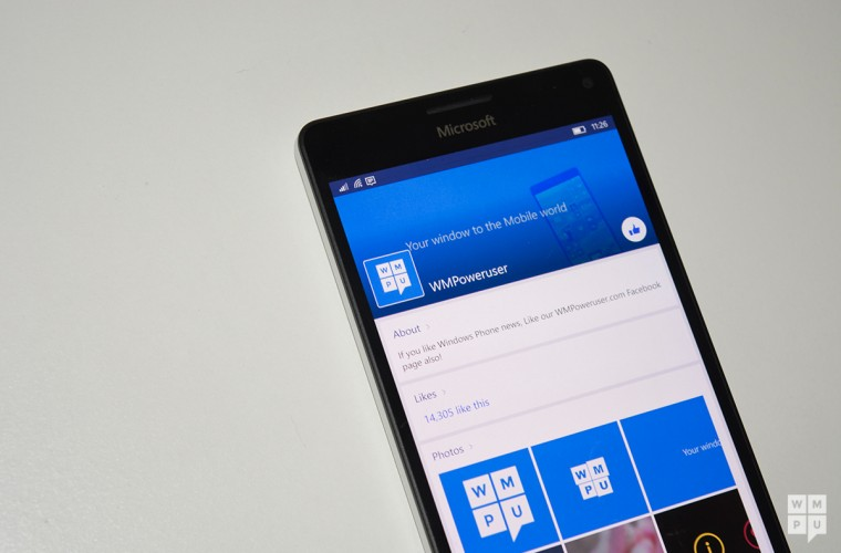 Facebook Beta for Windows 10 Mobile picks up a small update in the Windows store 15