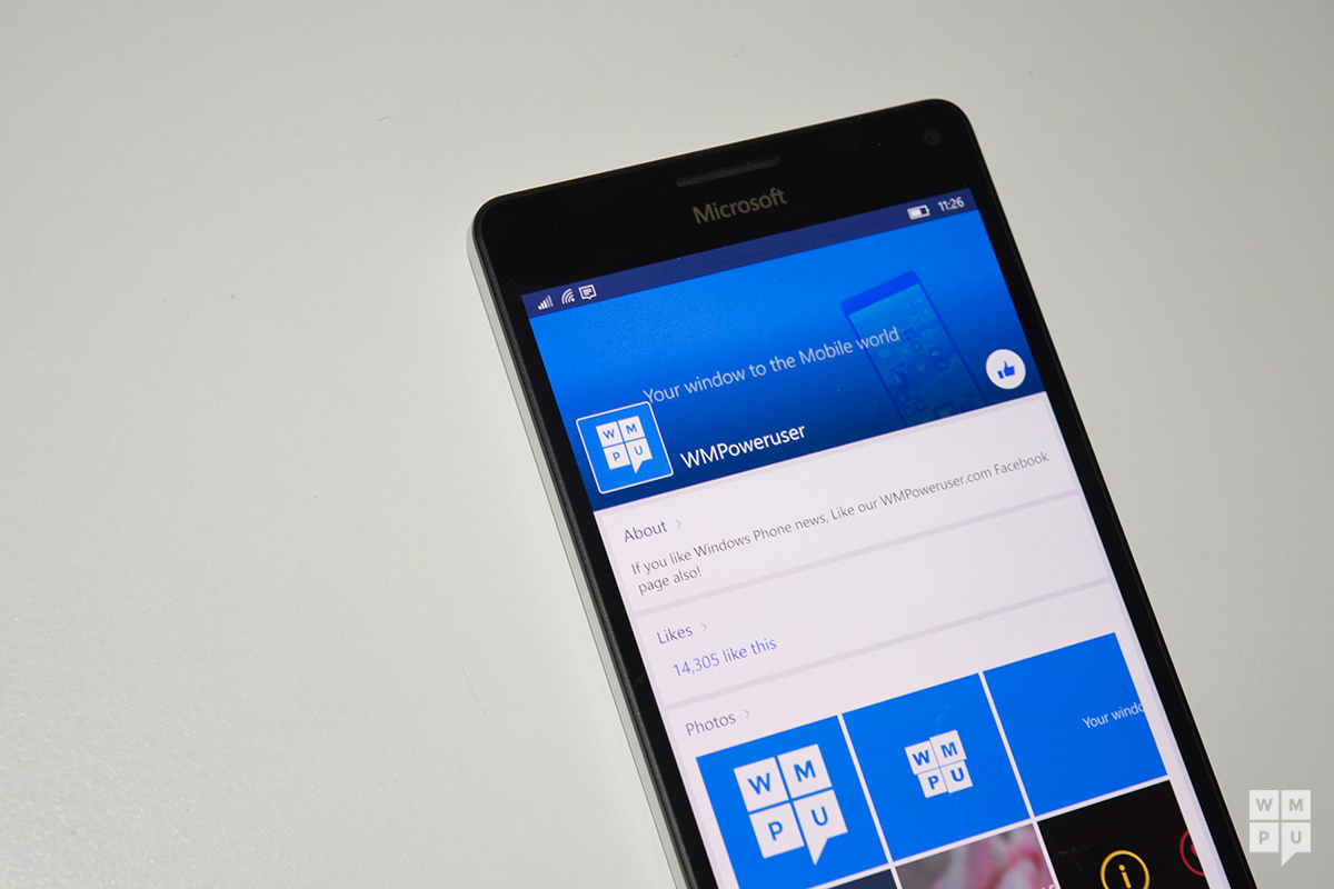 Facebook for Windows 10 Mobile now once again available to