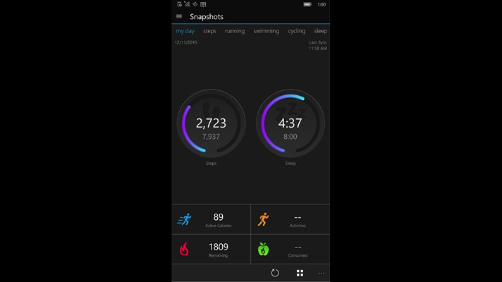 Garmin Connect Mobile App >> Garmin Connect Mobile Universal App Comes To Windows Store