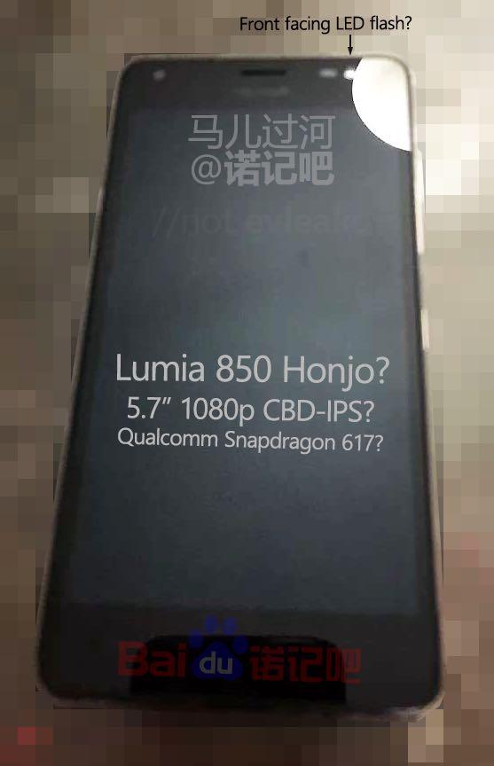 lumia 850-front