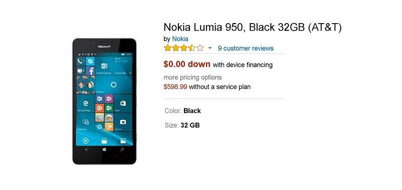 lumia 950 att