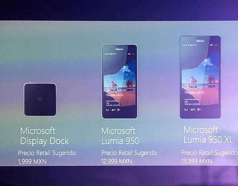 lumia 950 mexico
