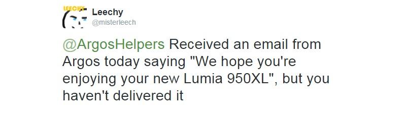 lumia 950 xl delay