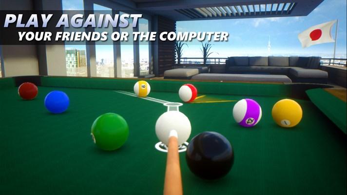 Developer Submission: 3D pool simulator, Cue Billiard Club updated in the Windows Store 8