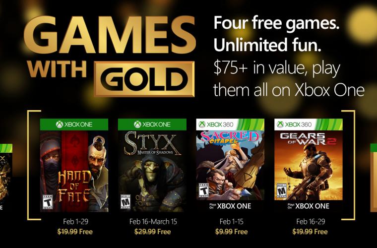 Xbox Live Games Feb
