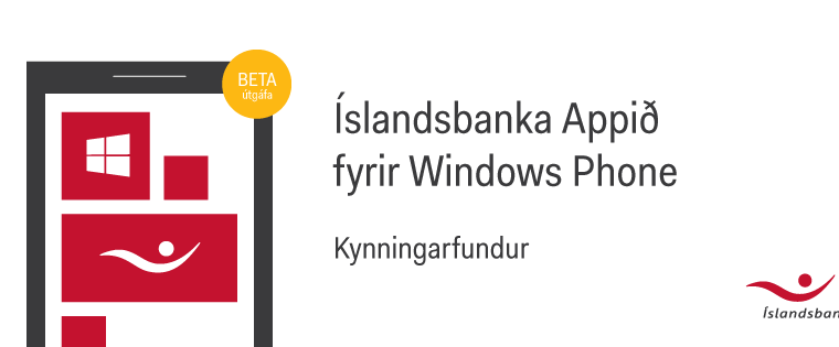 Bank of Iceland working on a Windows Phone app 15