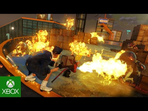 Take A Look At Sunset Overdrive's The Mystery of the Mooil Rig Add-on, Available For Download Now 7
