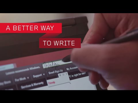 Lenovo Announces New WRITEit Technology To Make Handwriting On PCs And Tablets Better 1