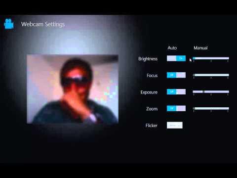 Windows 8 web cam software demoed 19