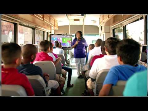 Watch Microsoft's Super Bowl 2015 Commercials Now: Estella's Brilliant Bus And Braylon O'Neill 8
