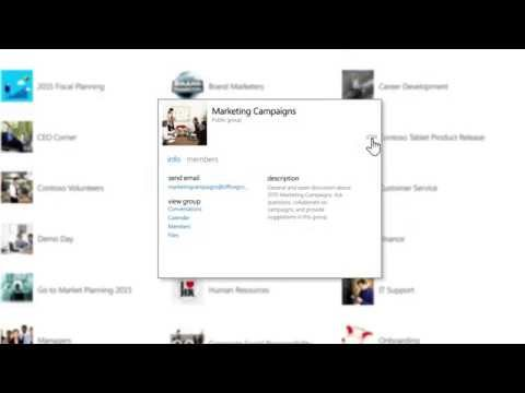 Microsoft Begins Roll-out Of Groups In Office 365, Brings People Together To Enable Better Communication And Collaboration 11