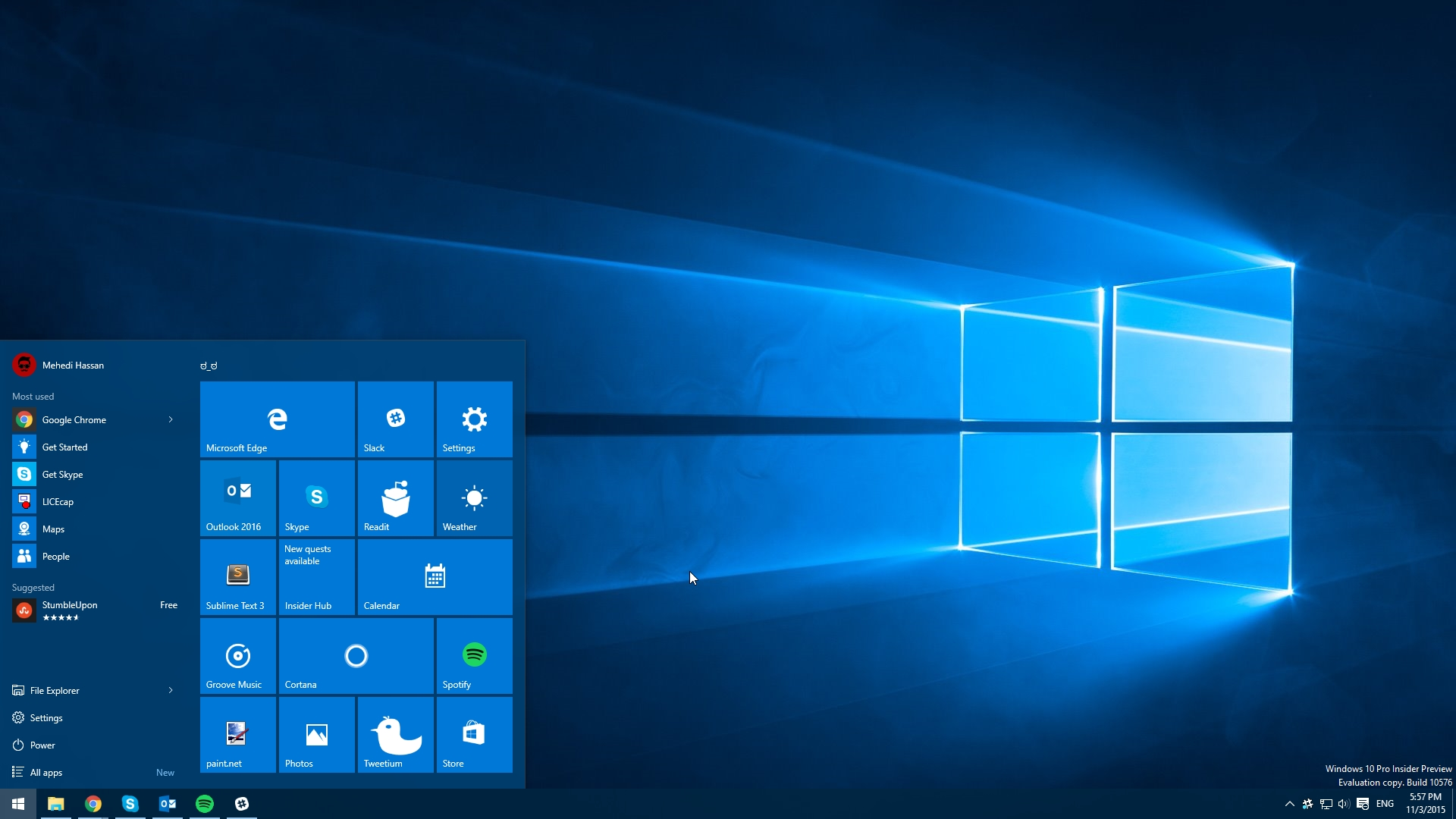 Windows 10 Tilantarve