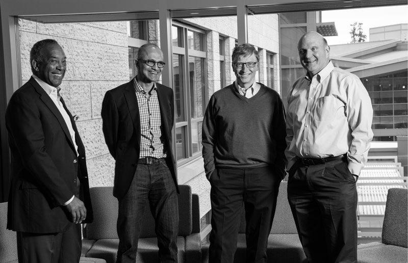 Watch Bill Gates, Steve Ballmer And Satya Nadella ...