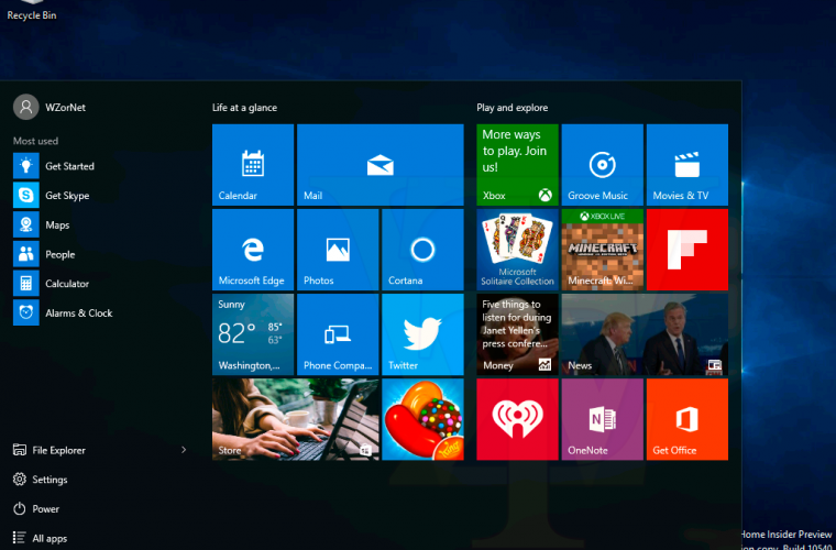 What's New Windows 10 Build 10547 2