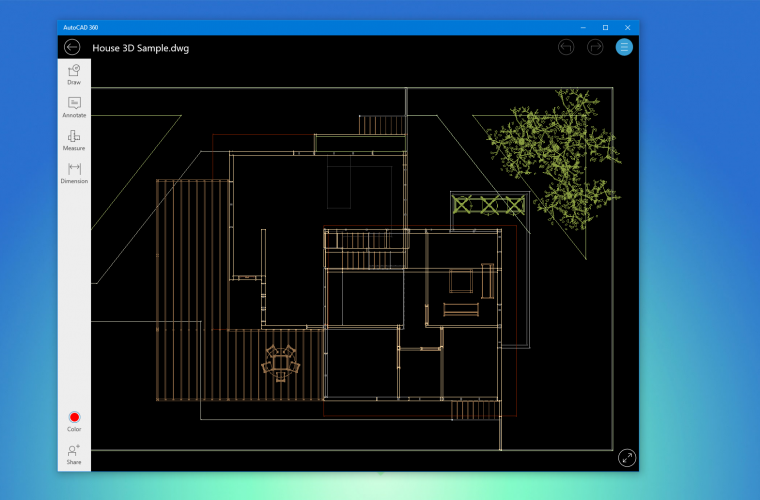 Autodesk's AutoCAD 360 UWP app updated to version 4.0 11