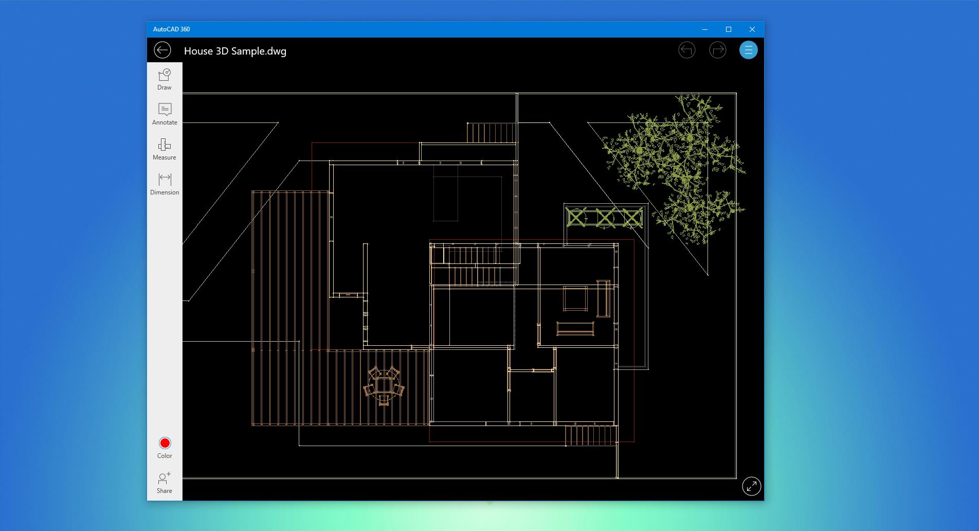Autodesk's AutoCAD 360 UWP app updated to version 4.0 - MSPoweruser