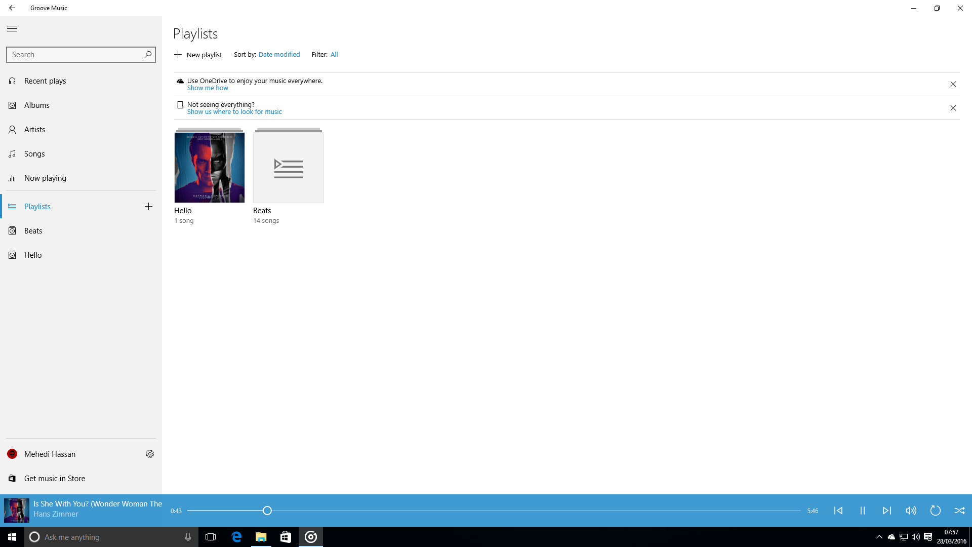 Groove Music to get gapless playback, and more improvements