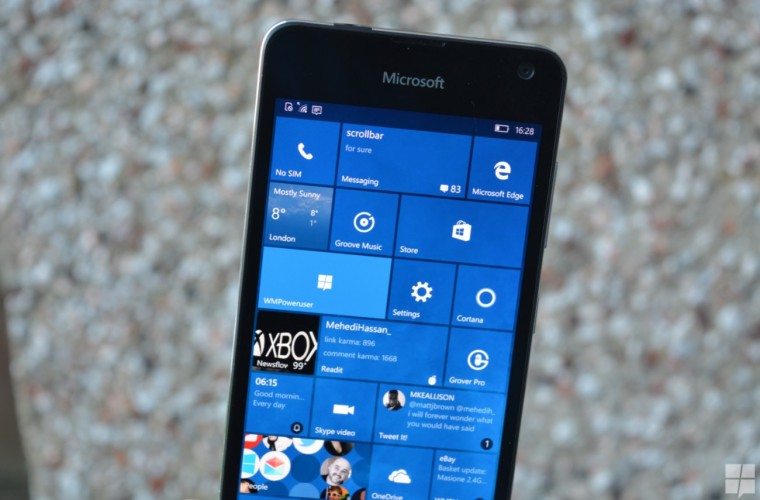 Here's what's fixed and broken in Windows 10 Mobile Build 14342 1