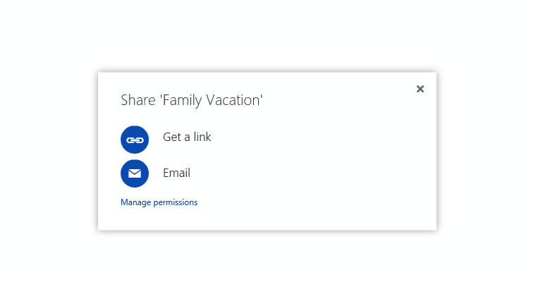 "OneDrive gets a ""simpler"" sharing experience on the Web 1"