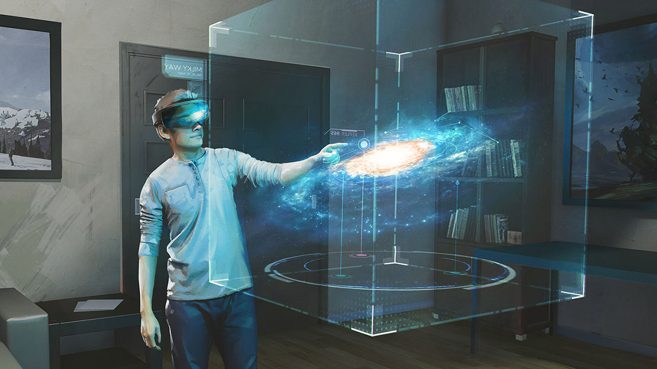 Hololens Galaxy Explorer
