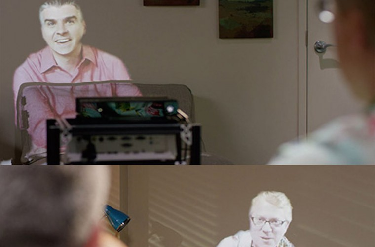 Microsoft Research Details Room2Room Project Which Enables Life-Size Telepresence 7