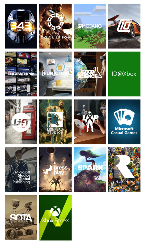 Microsoft Studios Past