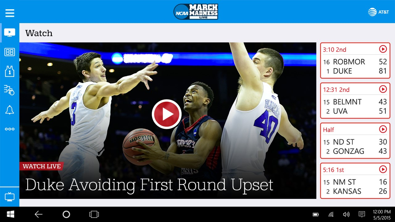 NCAA March Madness Live for Windows 10