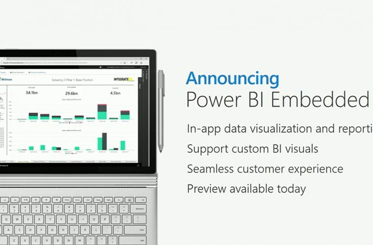 Microsoft announces Power BI Embedded preview, available for free till May 1