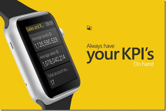PowerBI Apple Watch App