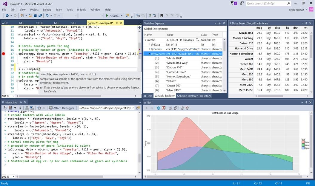 R Tools Visual Studio
