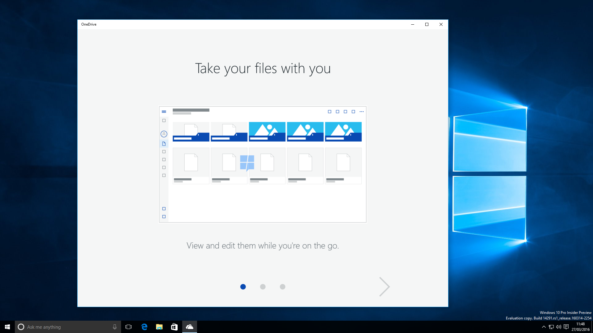 Exclusive: First look at OneDrive's UWP app in Windows 10