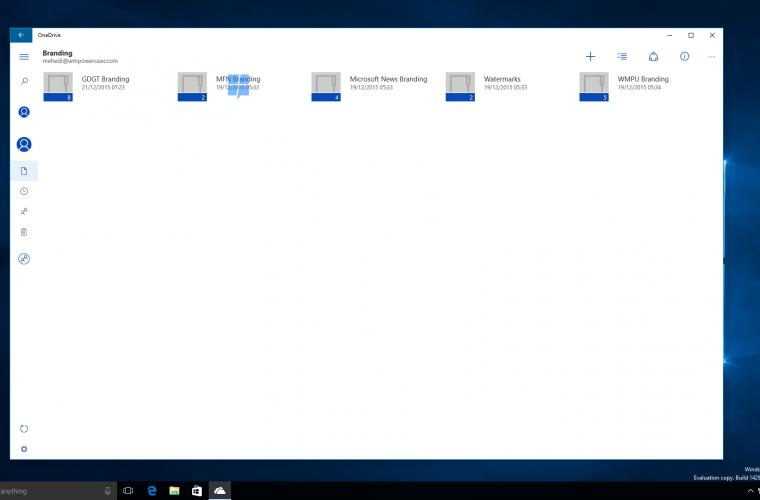OneDrive Universal Windows Platform application coming this quarter 8